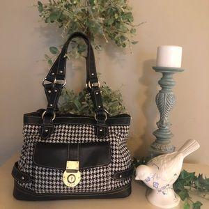 Chaps Black & White Bag